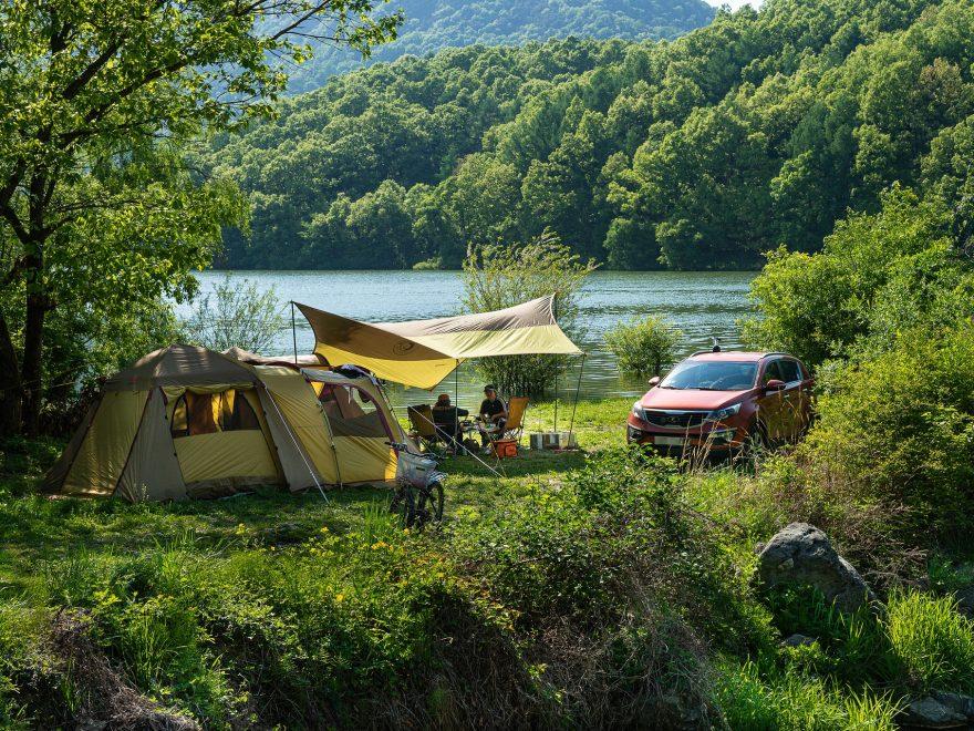 Profiter d une meilleure approche avec la nature grace au camping