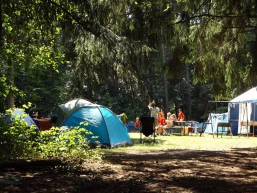 La camping est une petite excursion